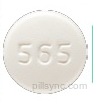 ROUND WHITE 565 24 HR metoprolol succinate 50 MG Extended Release Oral Tablet