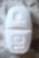 white rectangle 10 P score Canada Cetirizine 10 mg