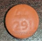 ROUND BROWN 44 291 Ibuprofen 200 MG Oral Tablet
