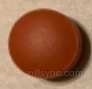 ROUND BROWN I3 Amitriptyline Hydrochloride 50 MG Oral Tablet