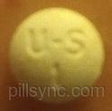 ROUND WHITE U S 1 Lorazepam 1 MG Oral Tablet