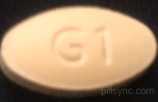 OVAL YELLOW G1 8 ondansetron tablet orally disintegrating