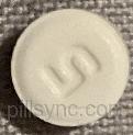ROUND WHITE 5 17 aripiprazole 5 MG Oral Tablet
