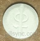 round blue logo Paladin shield 10 score Canada METADOL Methadone 10 mg