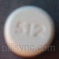 ROUND WHITE 512 Acetaminophen 325 MG  Oxycodone Hydrochloride 5 MG Oral Tablet