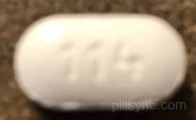 OVAL WHITE 114 Methocarbamol  Methocarbamol 500 MG Oral Tablet