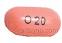 OVAL BROWN O20 Omeprazole 20 MG Delayed Release Oral Tablet