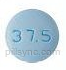 ROUND BLUE M MT 37 5 Metoprolol Tartrate 37.5 MG Oral Tablet