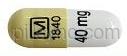 Methylphenidate Hydrochloride capsule - (methylphenidate hydrochloride 20 mg) image