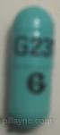 CAPSULE BLUE G231 logo omeprazole capsule delayed release