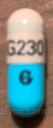 CAPSULE BLUE G230 omeprazole capsule delayed release