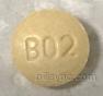 ROUND YELLOW LL B02 LISINOPRIL AND HYDROCHLOROTHIAZIDE  Hydrochlorothiazide 12.5 MG  Lisinopril 20 MG Oral Tablet