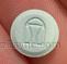 round green logo Paladin shield 10 score Canada METADOL Methadone 10 mg